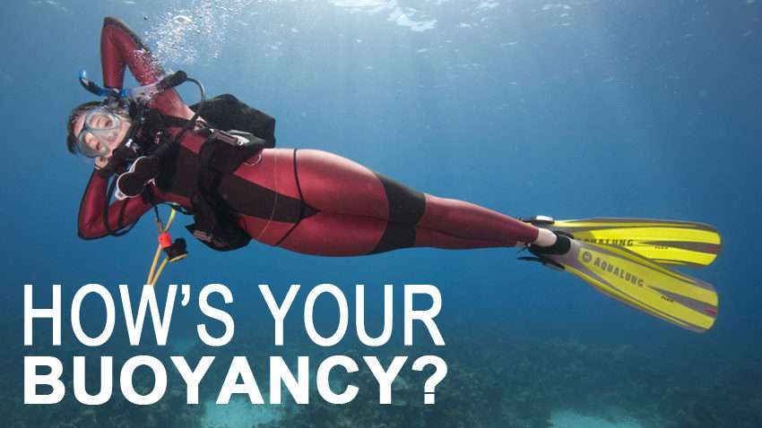 How's your buoyancy | Dive Funatics